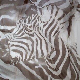 ARMANI zebro šilkas