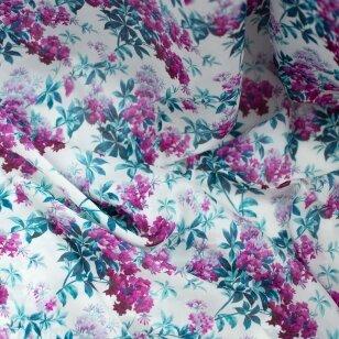 Ciklameninių gėlių šilkas