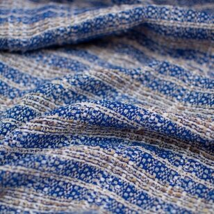 Mėlynas CHANEL tvidas