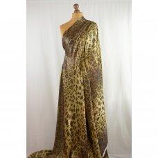 Saulėje spindinčio leopardo šilkas