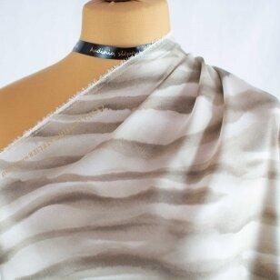 Valentino atlasinis zebrinis šilkas