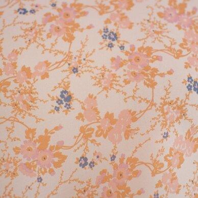 VALENTINO rausvų gėlyčių šilkas 5